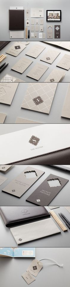 "Boutique Hotel ""The Sultan"" Brand Identity via Behance | #stationary #corporate #design #corporatedesign #identity #branding #marketing < repinned by www.BlickeDeeler.de | Visit our website: www.blickedeeler.de/leistungen/corporate-design:"
