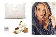 Chilote house shoes, $79; coolhunting.com; Maison Louis Marie Antidris-Lavender Candle, $34; theline.com; Julia B. Couture Linens bunny pillow, $140; modaoperandi.com - Photo: (clockwise from right) Courtesy of Rosie Huntington-Whiteley / @rosiehw; Courtesy of coolhunting.com; Courtesy of theline.com; Courtesy of modaoperandi.com