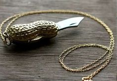 15 Wickedly Disguised Weapons - From Nutty Pendant Knives to Cell Phone Pistols (CLUSTER)