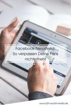 Im Facebook-Newsfeed werden Dir und Deinen Fans nicht alle Neuigkeiten angezeigt. Was das für Deine Facebook-Seite bedeutet, erfährst Du hier.