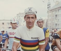 Thomas Simpson was one of Britain's most successful professional cyclists.  He won a bronze medal for track cycling at the 1956 Summer Olympics and a silver at the 1958 British Empire and Commonwealth Games.won the 1961 Tour of Flanders,in the 1962 Tour de France he became the first British rider to wear the yellow jersey, finishing sixth overall. In 1965 Britain's first world road race champion and won the Giro di Lombardia,