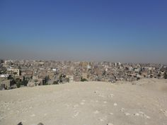 Cairo - panoramic view from the pyramids