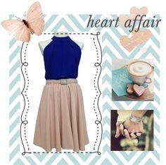 """heart affair"" by misspakki on Polyvore"