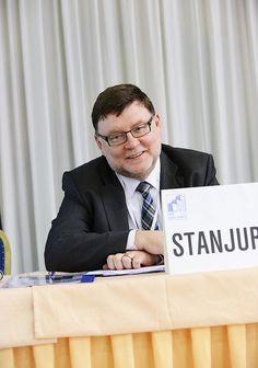 Na Fóru českého stavebnictví dorazil také Zbyněk Stanjura, Ministr dopravy.