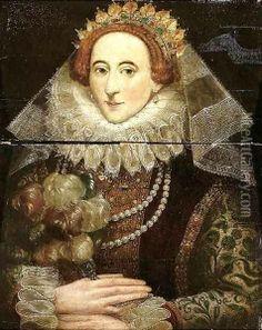 Portrait of Queen Elizabeth I of England by Federico Zuccaro