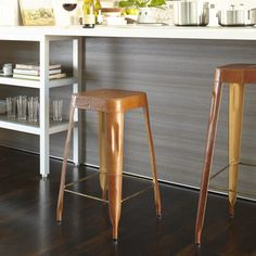 Leather Counter Stool