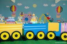 Festa infantil: tema Peppa Pig  www.festascriativas.com.br  Brasília/DF