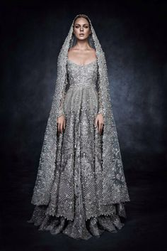 highfashionpakistan:  Elan's piece for Swarovski Sparkling Couture Exhibition.