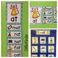 A Differentiated Kindergarten: All In the Family (The Word Family That Is) and a Freebie to Get you Started