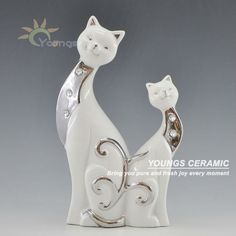 -Handicraft of Jingdezhen-Nice look,High Quality -As Wholesale,Retail-Hand maded shape Soapstone Carving, Cat Statue, Wooden Cat, Africa Art, Glass Figurines, Monster Design, Vintage Dog, Hand Art, Pretty Cats
