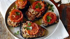 Karniyarik – Split belly stuffed eggplant with lamb or beef – from Turkish Meze by Sevtap Yuce Photograph: Hardie Grant Books Recipes With Beef And Vegetables, Vegetable Recipes, Meat Recipes, Lamb Recipes, Vegetarian Recipes, Dinner Recipes, Sbs Food, Ground Beef Recipes Easy, Meat Appetizers