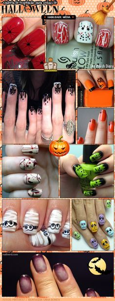 manicure-dia-das-bruxas-unhas-para-halloween-nails