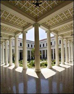 The Getty Villa...