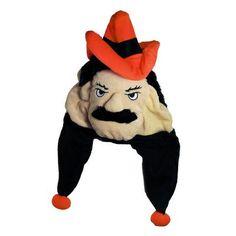 NCAA Oklahoma State Cowboys Thematic Mascot Dangle Hat