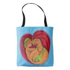 Madre e hijo pintura óleo arte. Mom. Regalos, Gifts. #bolso #bag