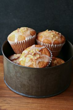 Perfect Lemon Muffins [topwithcinnamon]
