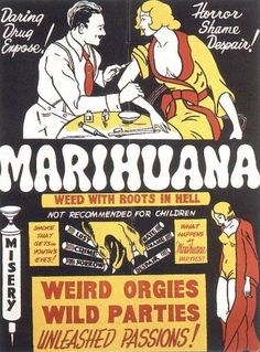 Weird Mystic Orgies with the Weed From Hell.  Intravenously...?  - strange cinema posters