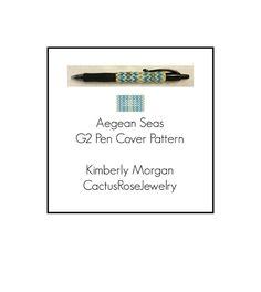 Aegean Seas G2 Pen Cover Pattern | Craftsy