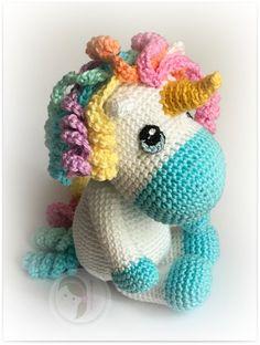 Baby Unicorn Crochet Pattern
