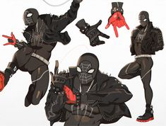 """Drawing Comics """"I finally got around to drawing my spidersona! his name is spiderpunk. Marvel Art, Marvel Heroes, Character Drawing, Character Concept, Comic Books Art, Comic Art, Spider Men, Spider Costume, Spiderman Art"""
