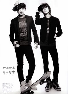 SHINee - Numero Magazine August Issue '09 --- Onew and Taemin