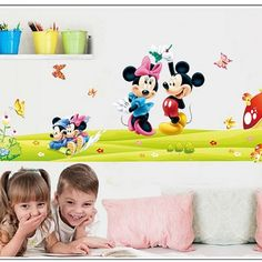 mickey mouse wall art decals