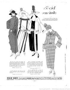 Les Modes de la femme de France 1922/03