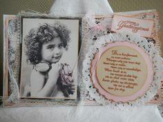 Hjertetunet: Konfirmasjonskort til jente