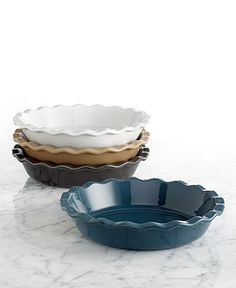 Emile Henry Natural Chic 9 Pie Dish - Cookware - Kitchen - Macy's