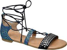 Sandale von Ellie Star Collection in blau - deichmann.com