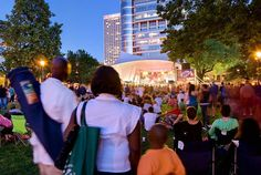 East Town's Jazz in the Park series! Cathedral Square Park, Milwaukee WI