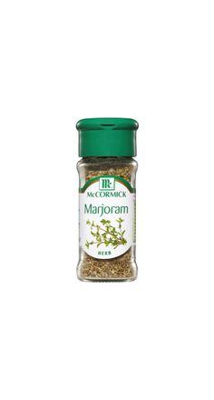 Marjoram Coconut Oil, Spices, Herbs, Jar, Food, Spice, Jars, Hoods, Meals
