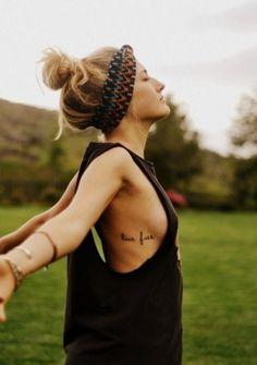 Live free tatoo