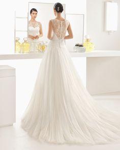 OLIVIA vestido de encaje pedrería y tul. Collezione Per Spose 699474d5c6e