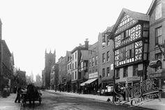 Chester City many years ago. Arrow FS is based in the historical city of Chester. Click on the image to visit Arrow's website.