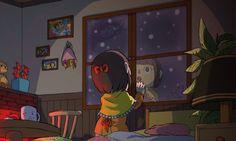 Animal Crossing; winter weather