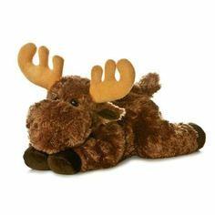 Moose stuffed animal. Aurora. | B's moose! Gotta pick up another in case we lose this one...