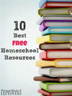 10 Best Free Homesch