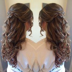 55 Stunning Half Up Half Down Hairstyles Hair Styles Pinterest