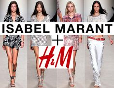 Isabel Marant Announces Her Capsule Collection for H - OLENA Fashion, Luxury Blog