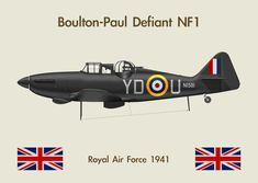Fridge Magnet Defiant 1 by Claveworks on DeviantArt Ww2 Aircraft, Military Aircraft, Aviation World, Hawker Hurricane, Tech Background, Flying Boat, Military Equipment, Royal Air Force, World War Ii