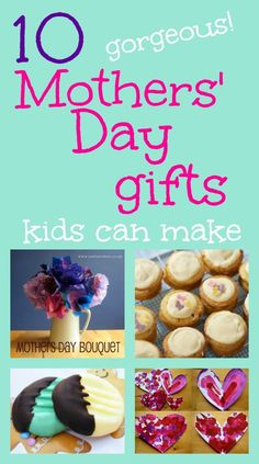 Mother's Day Gift Ideas : Gorgeous gifts kids can make for Mothers' Day. Unique Mothers Day Gifts, Mother Day Gifts, Cute Crafts, Crafts For Kids, Mother's Day Bouquet, Mother's Day Activities, Gifted Kids, Fathers Day Crafts, Mom Day