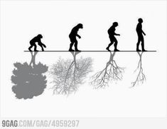 9gag, relation of human-being and natural