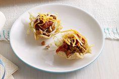 Bocaditos de ensalada de tacos Receta