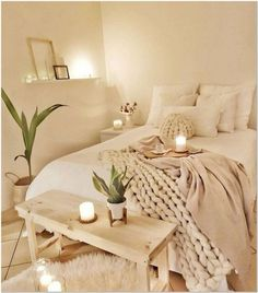 Top Lovely Fall Bedroom Decor Ideas Perfect For This Autumn Guide! There are a lot of small bedroom tips that you can use if you need… Continue Reading → Room Ideas Bedroom, Home Decor Bedroom, Fall Bedroom, Bedroom Bed, Bedroom Inspo, Bedroom Cushions, Boho Chic Bedroom, Bedroom Curtains, Bedroom Inspiration