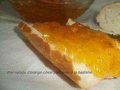 Marmelade d'orange et de citron parfumée à la badiane