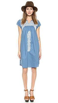 Ulla Johnson Women's Dahlia Dress, Cornflower, 0 Ulla Johnson http://www.amazon.com/dp/B00T0BSUVQ/ref=cm_sw_r_pi_dp_ZSxevb041S99X