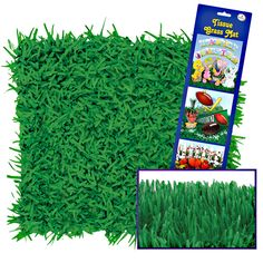 Green Grass Tissue Mats, 72332 ...Good for an alice and wonderland theme to put tea cups etc