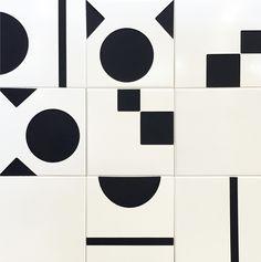 Oca Brasil Revestimentos - Coleção Brasiliana - Burle Floor Patterns, Tile Patterns, Textures Patterns, Geometric Tiles, Geometric Shapes, Color Tile, Surface Pattern Design, Bathroom Interior Design, Tile Design
