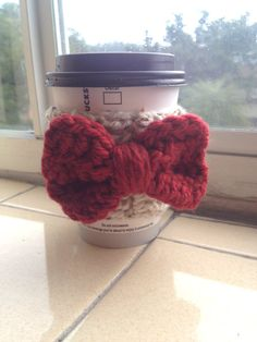 Coffee Cup Cozy on Etsy, $5.00